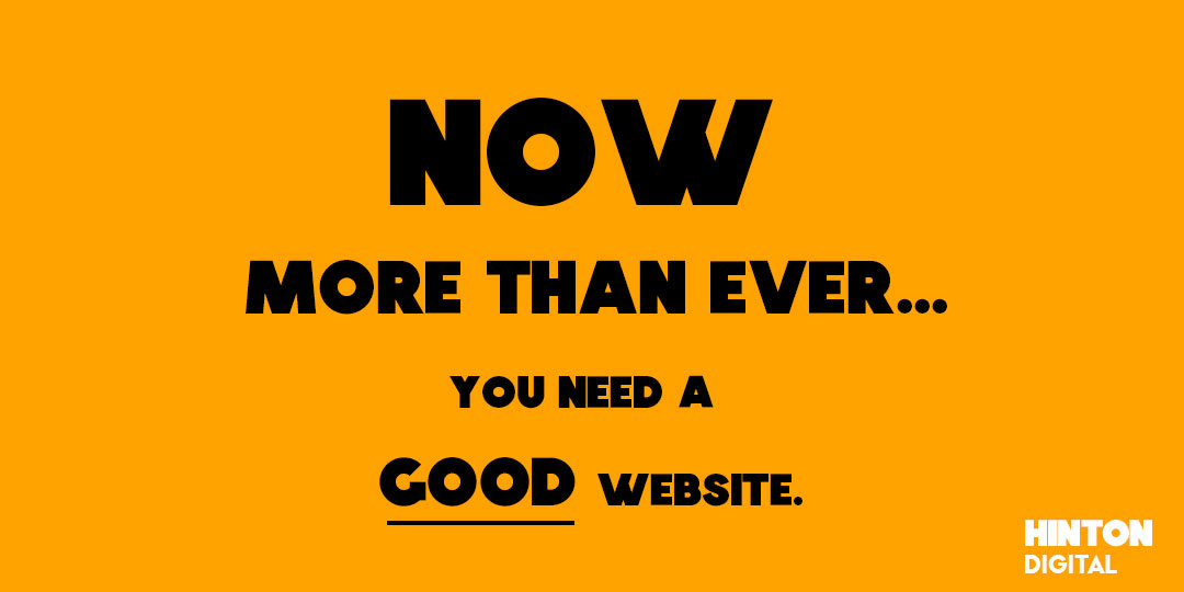 Do I need a website for my business? Yes.
